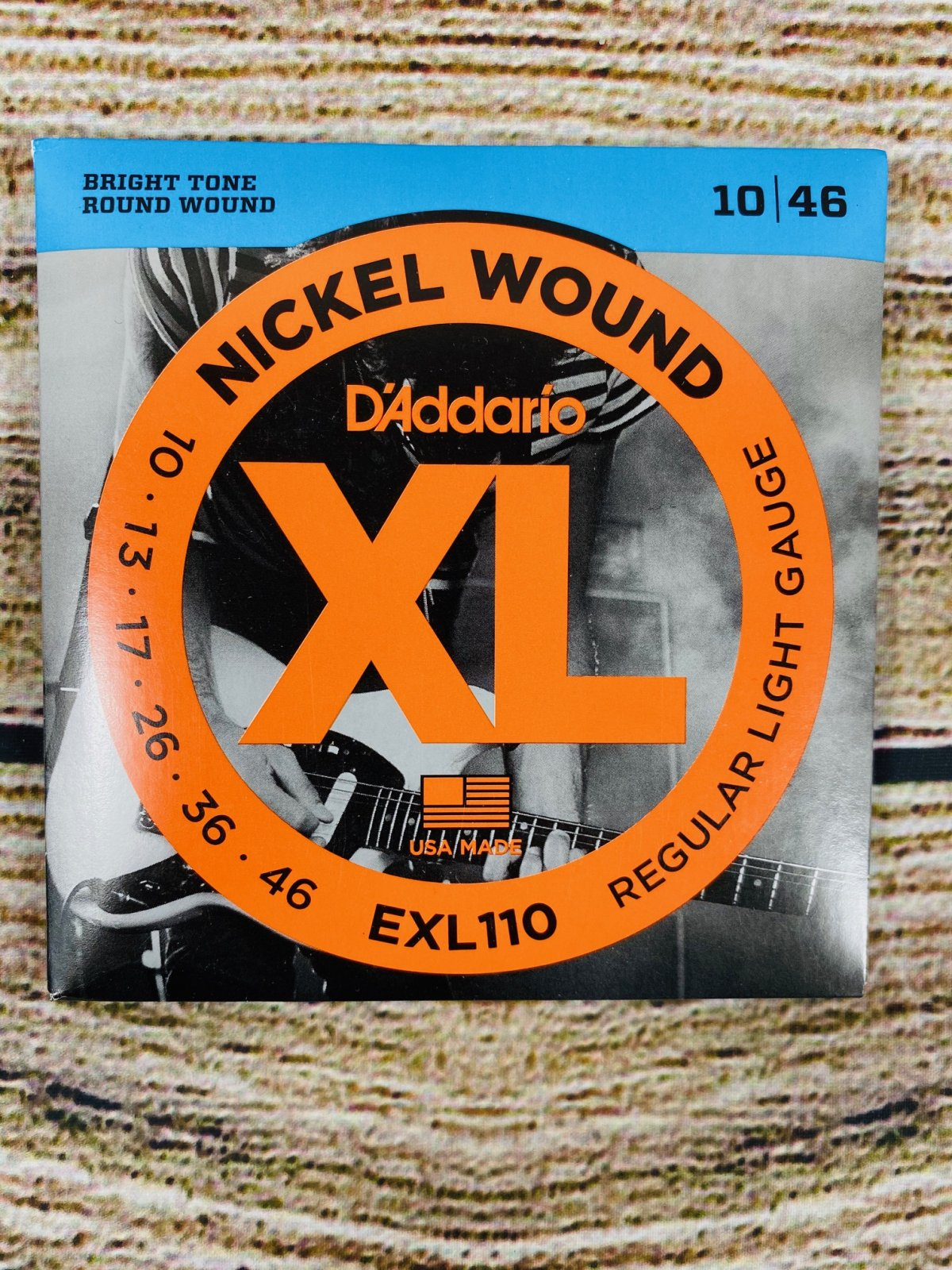 D'Addario EXL110 Nickel Wound Electric Strings - .010-.046 Regular Light