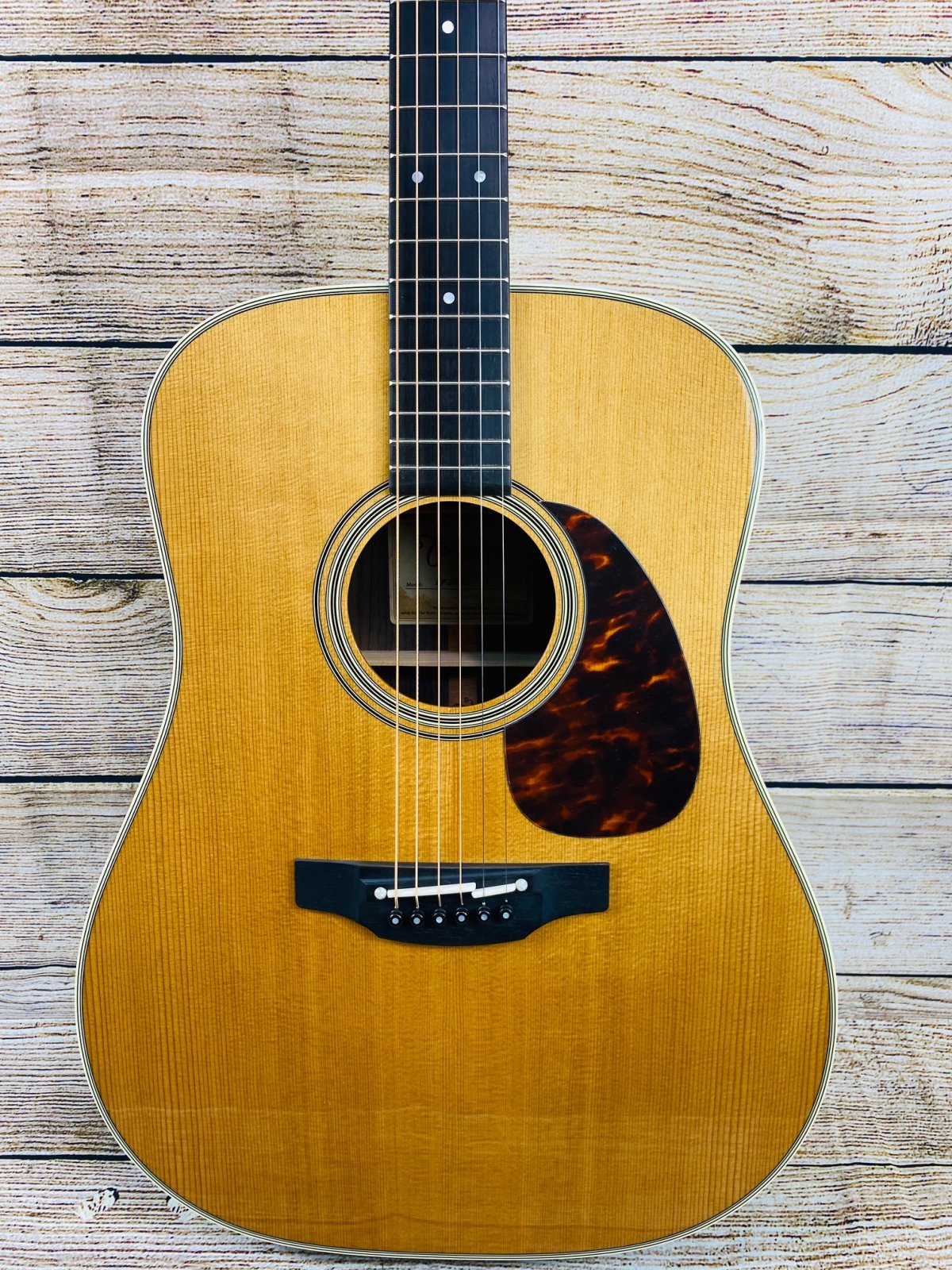 Takamine EF360S-TT Dreadnought Acoustic-Electric Guitar - Natural with Rosewood
