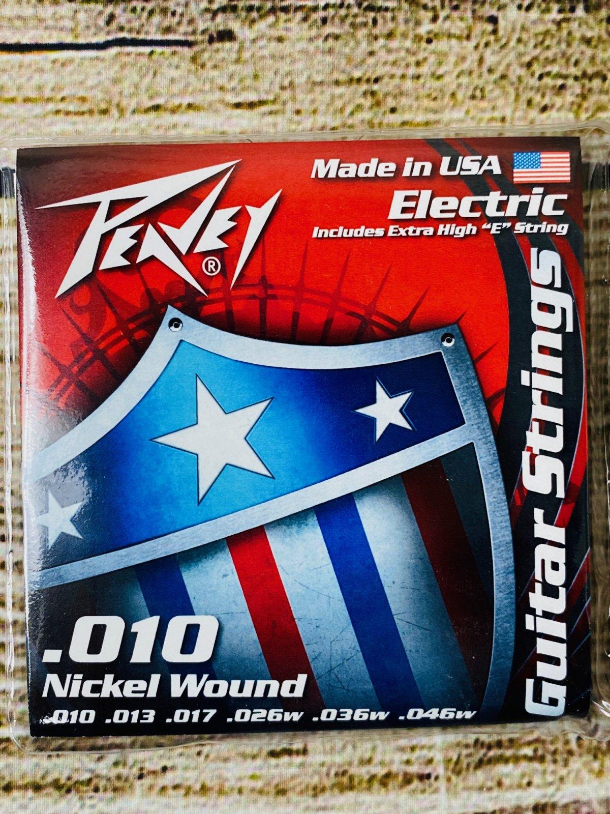 Peavey Nickel-Wound Electric Guitar Stings 10s