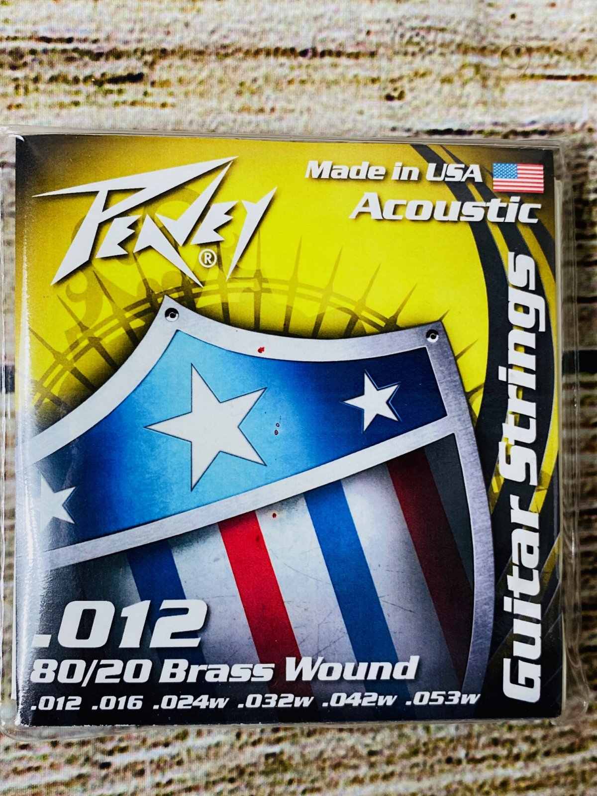 Peavey Phosphor Bronze-Wound Acoustic Guitar Strings 12s