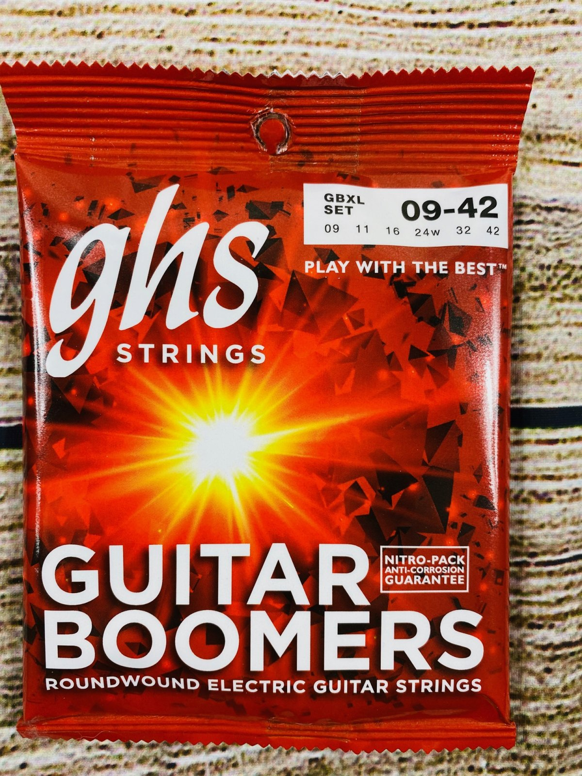 GHS GBXL Guitar Boomers Electric Guitar Strings - .009-.042 Extra Light