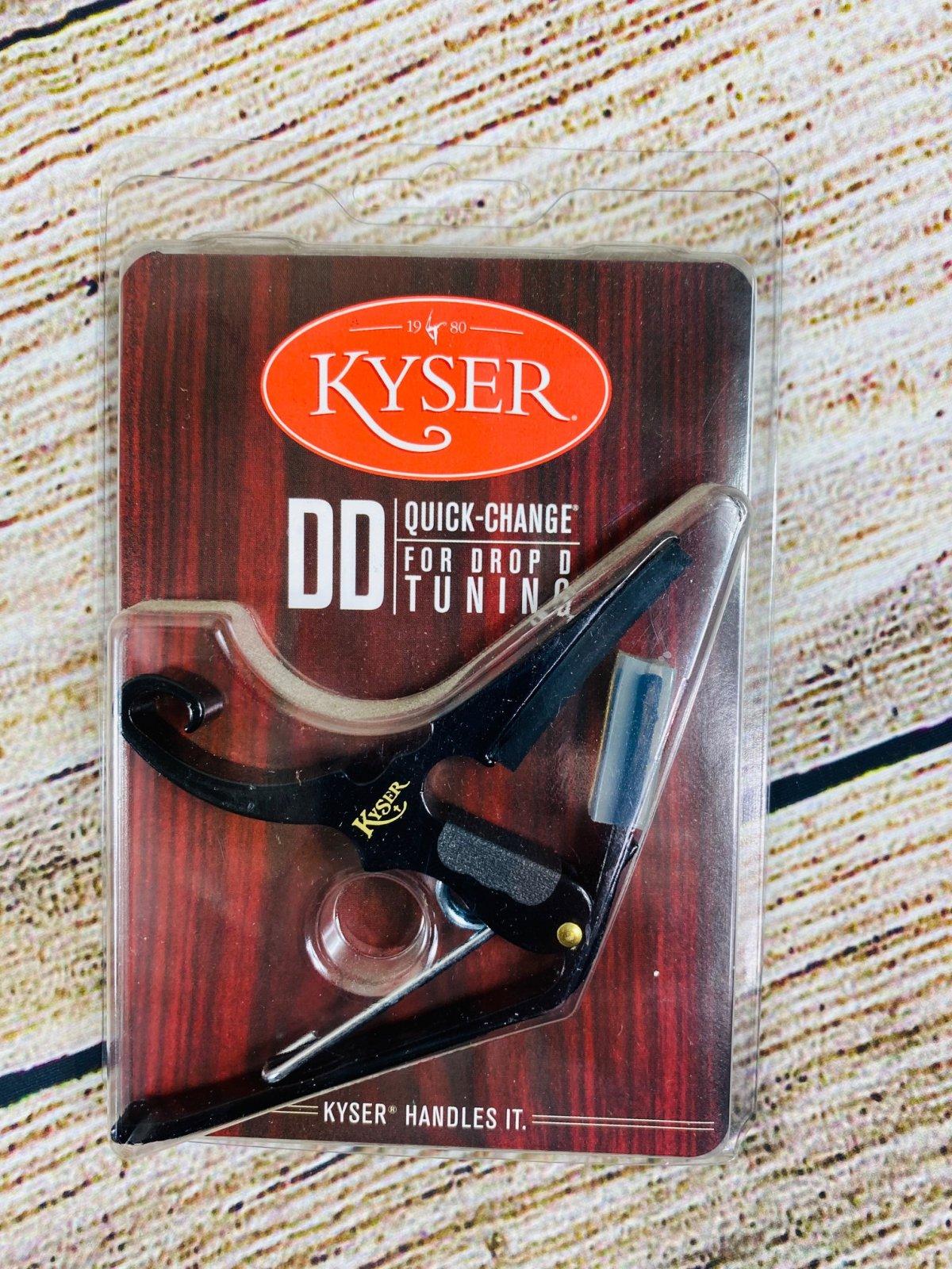 Kyser Quick-Change Drop-D Acoustic Guitar Capo