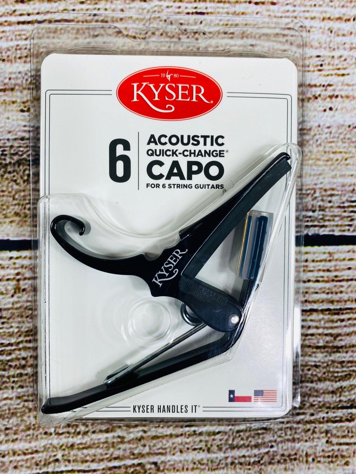 Kyser Quick-Change Capo - Black