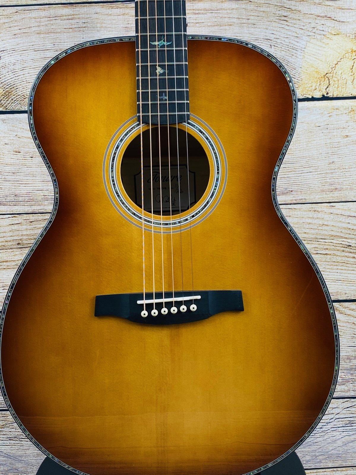 PRS SE Tonare T50E Acoustic-Electric - Vintage Sunburst with case