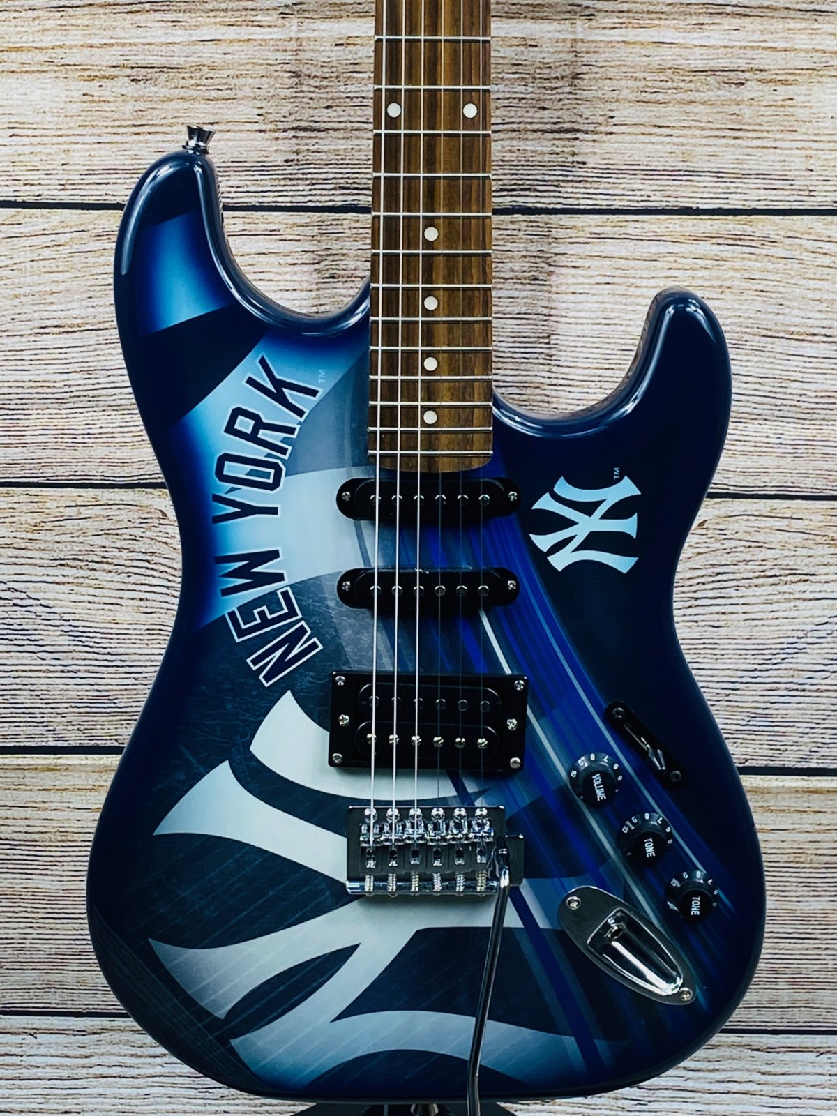 Woodrow New York Yankees Electric Guitar