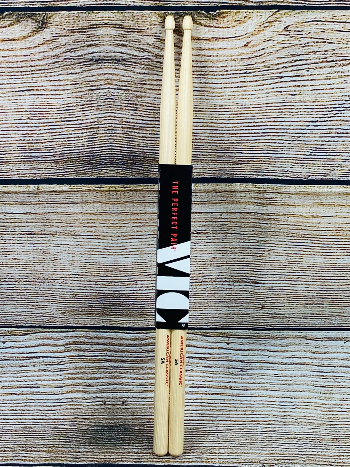 Vic Firth American Classic Drumsticks - 5A - Wood Tip