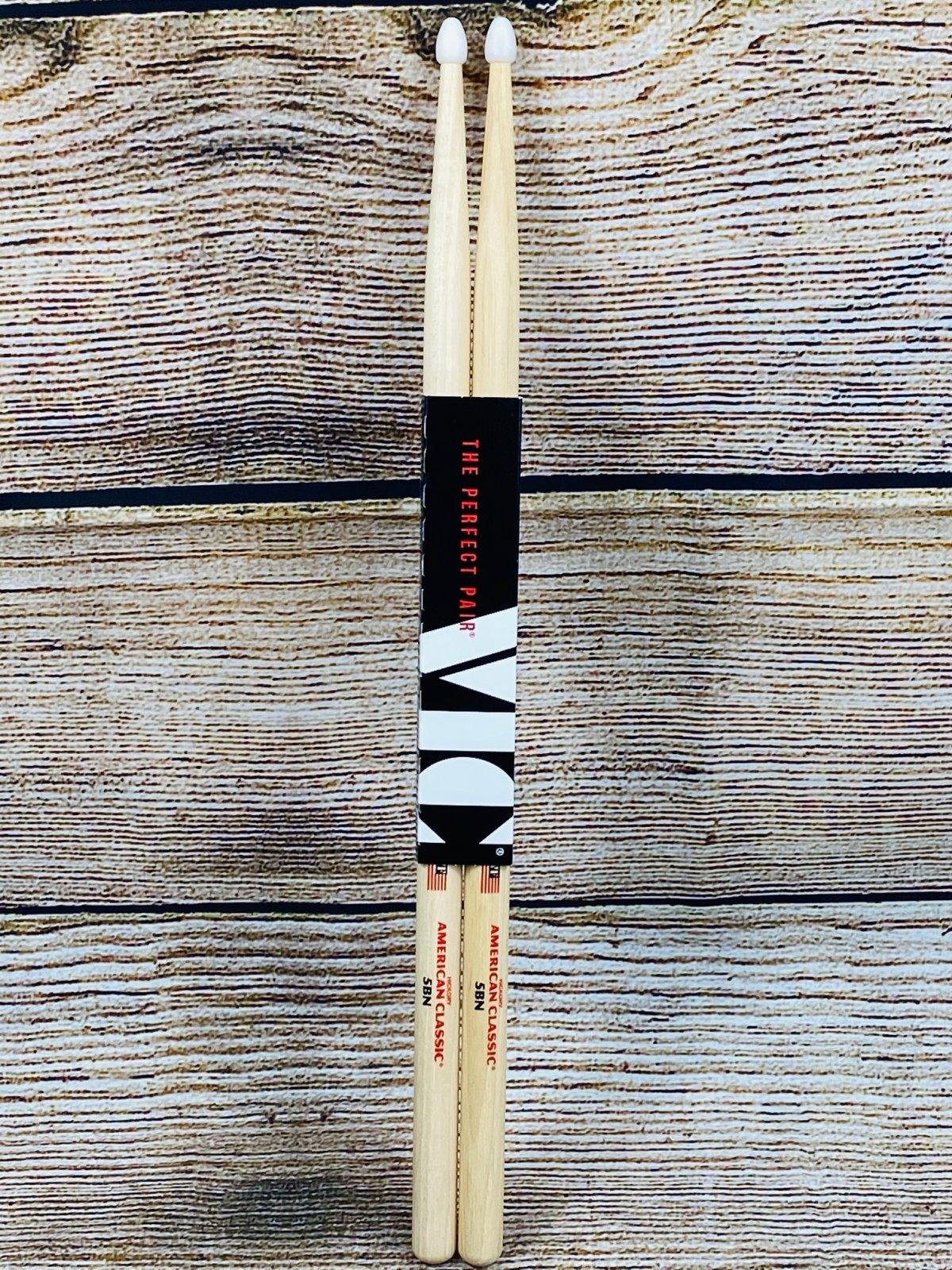 Vic Firth American Classic Drumsticks - 5B - Nylon Tip