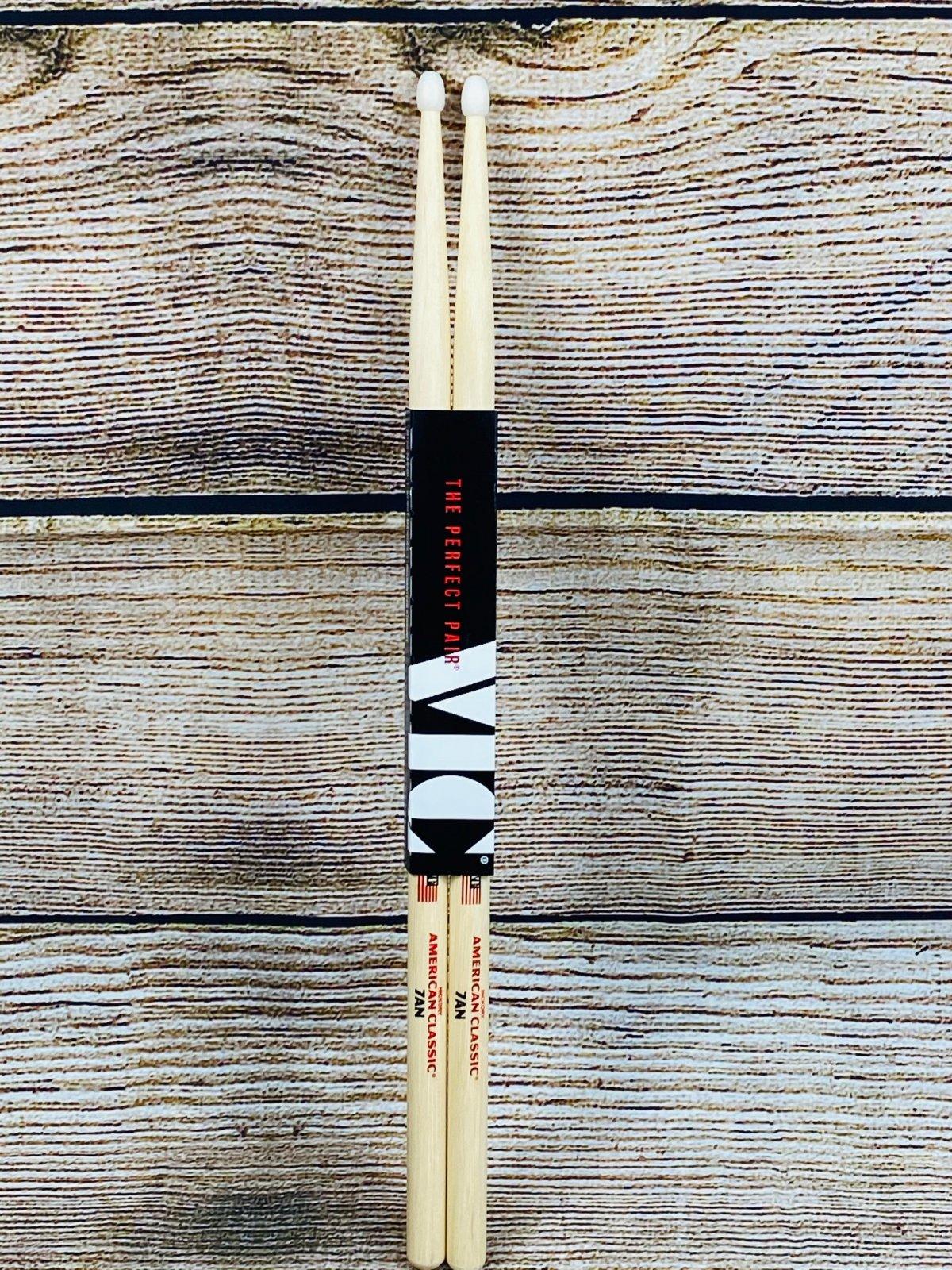 Vic Firth American Classic Drumsticks - 7A - Nylon Tip