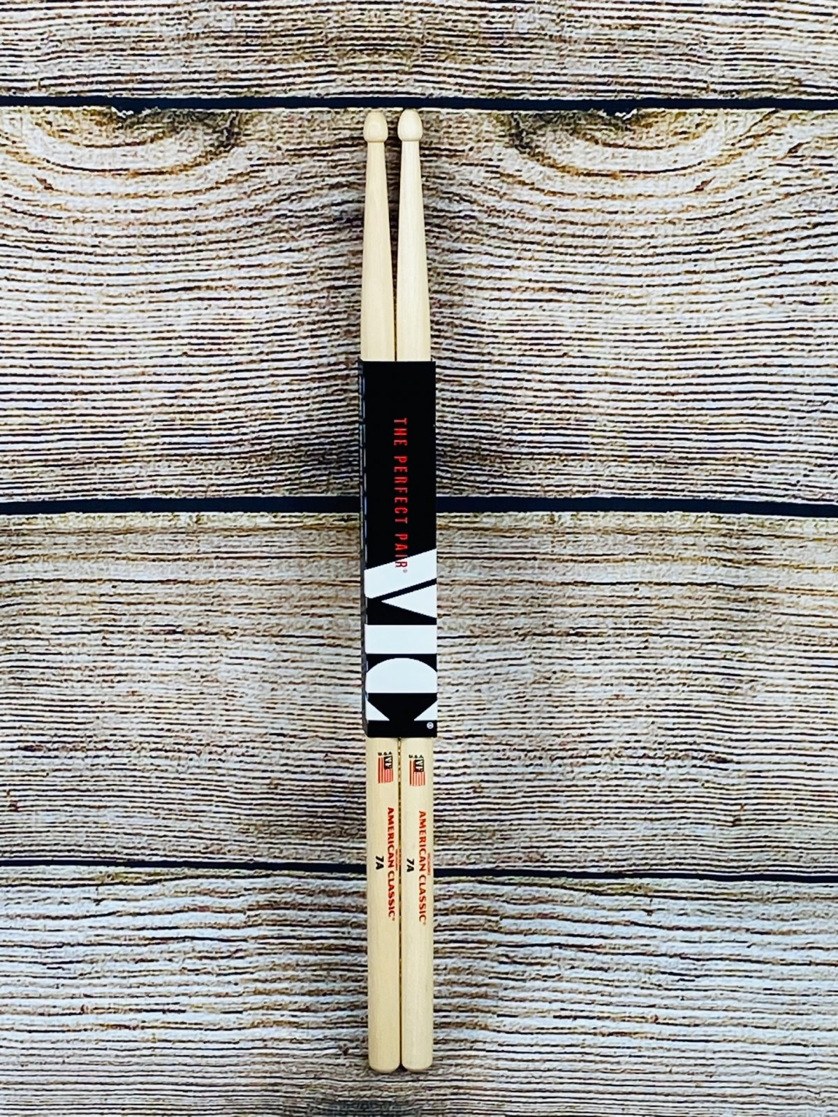 Vic Firth American Classic Drumsticks - 7A - Wood Tip