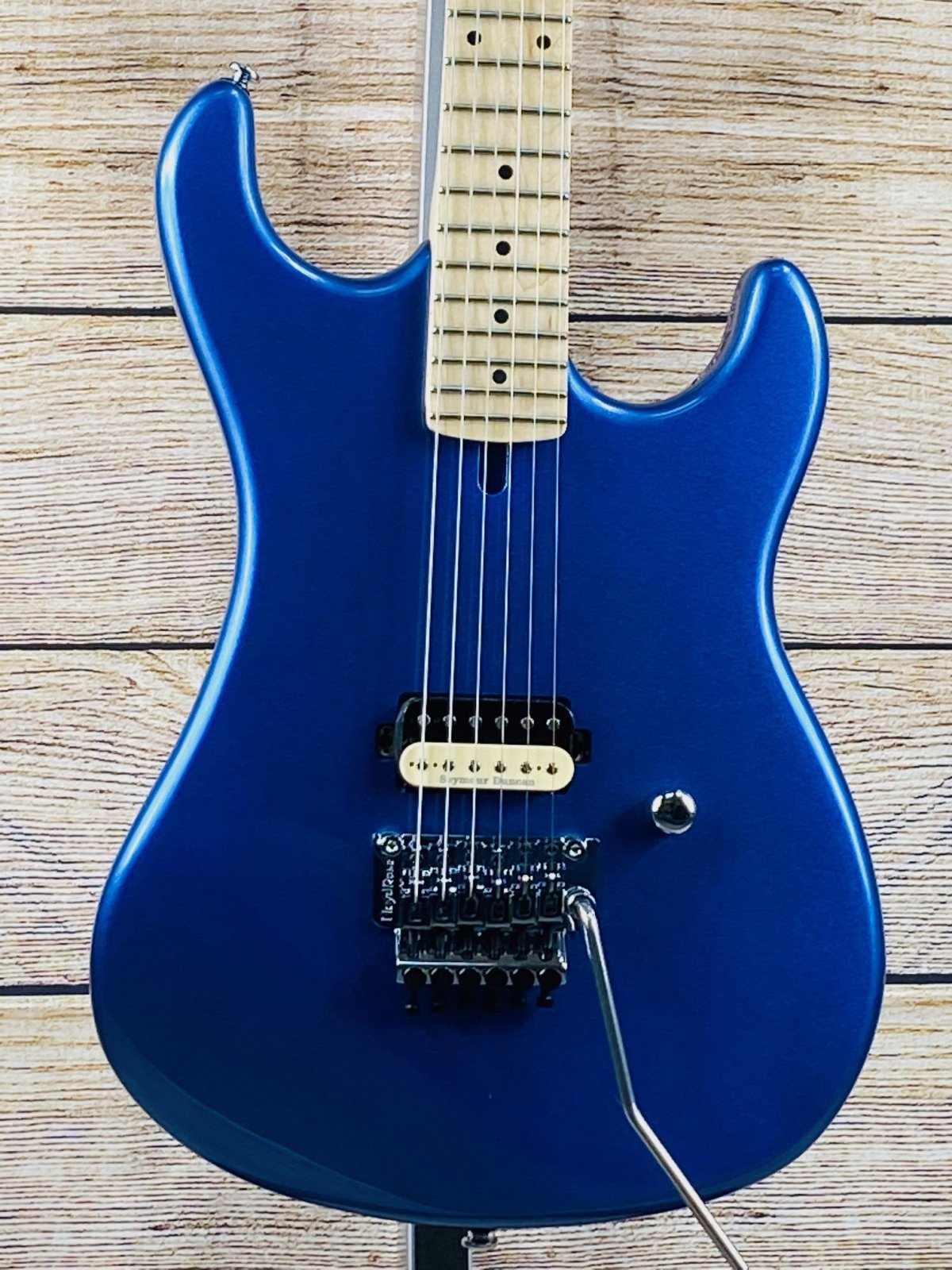 Kramer The 84 Electric Guitar - Blue Metallic