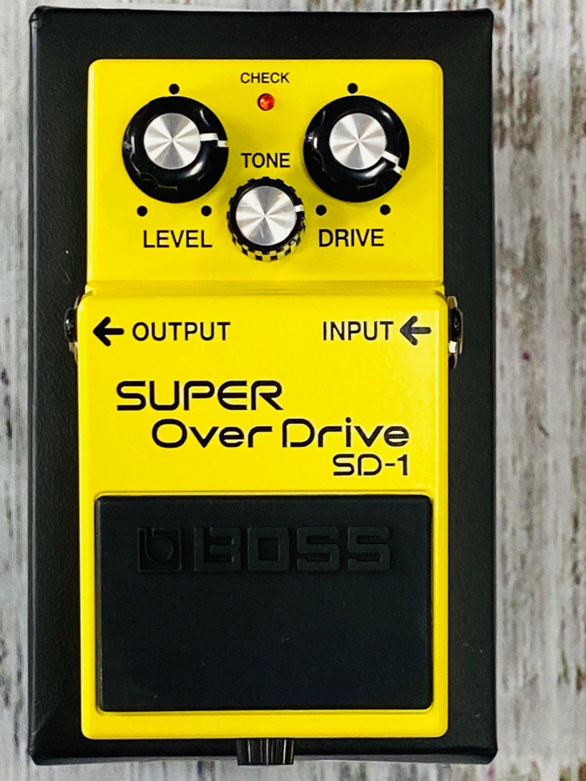 Boss SD-1 Super Overdrive Pedal