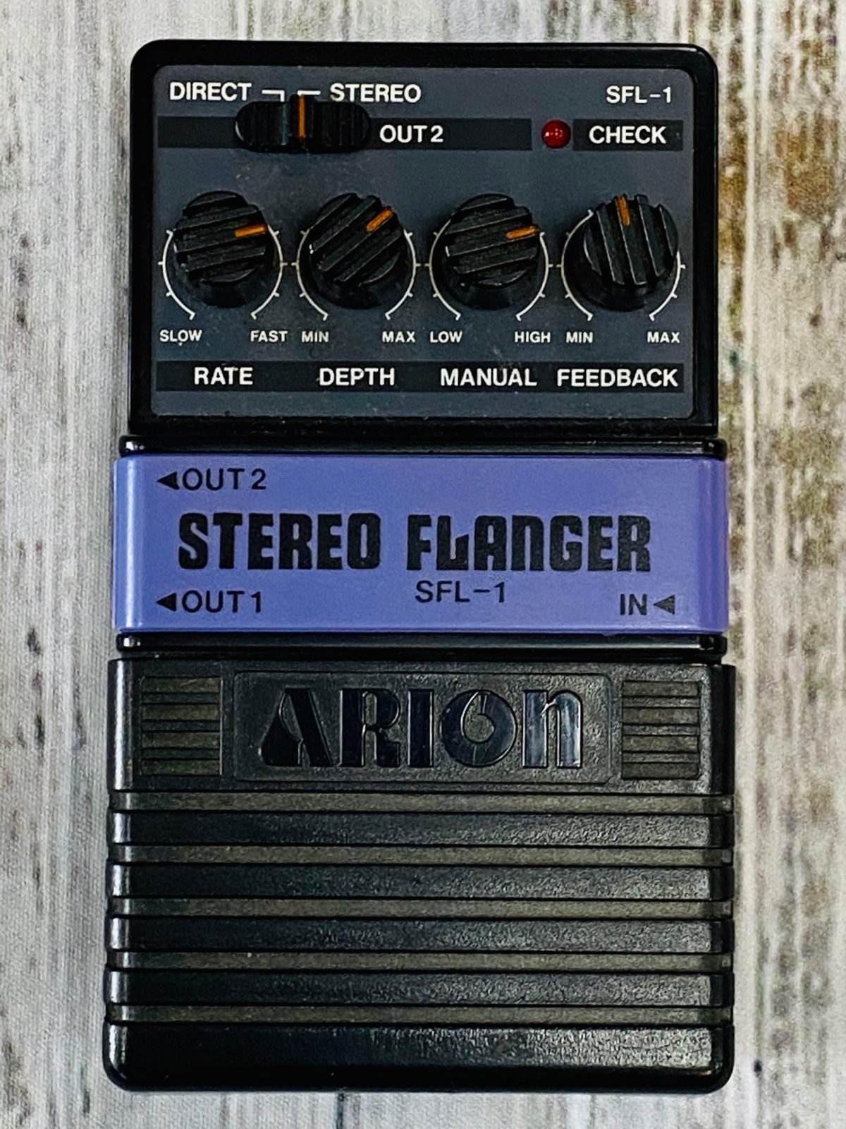 Used Arion SFL-1 Stereo Flanger