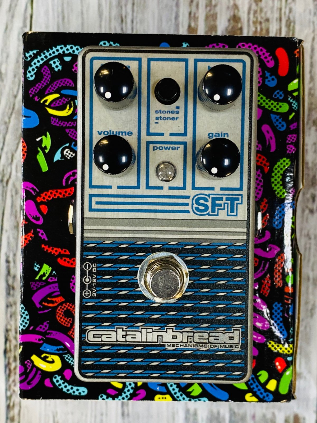 Catalinbread SFT Sapphire Ampeg-voiced Overdrive Pedal