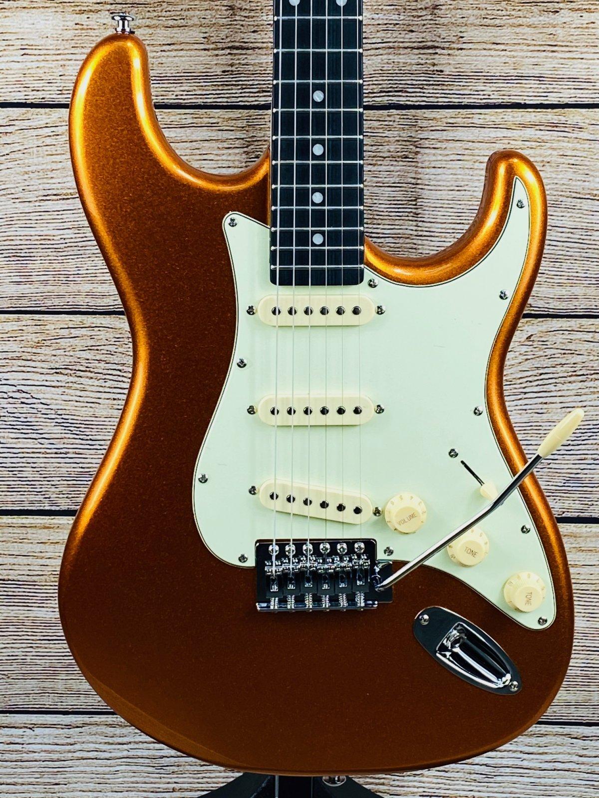 Tagima TG-500 Electric guitar - Metallic Gold