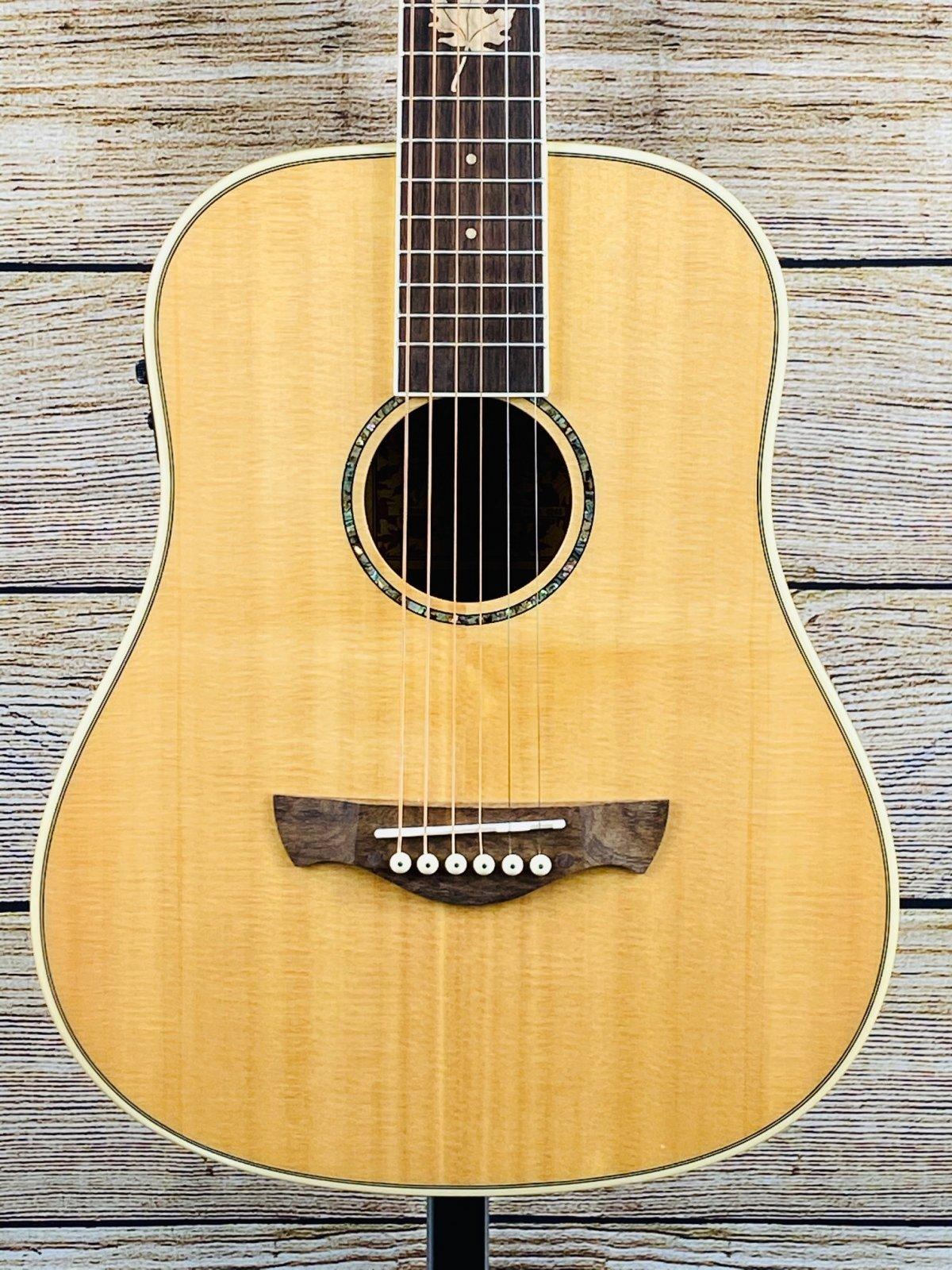 Tagima Fernie-EQ (Small Body) Canada Series Electric Acoustic Guitar natural