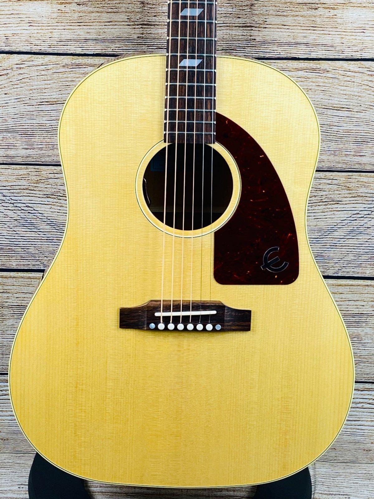 Epiphone USA Texan Acoustic-Electric Guitar - Antique Natural