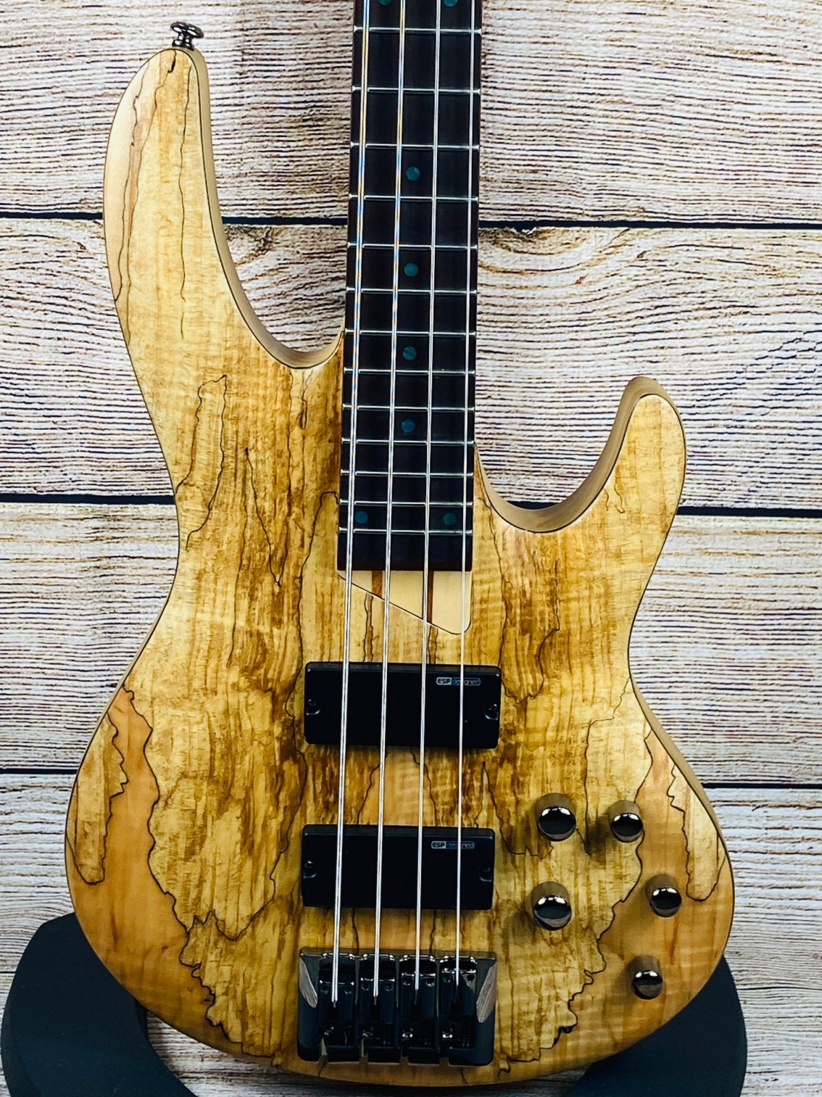 ESP LTD B-204SM 4 String Electric Bass - Spalted Maple