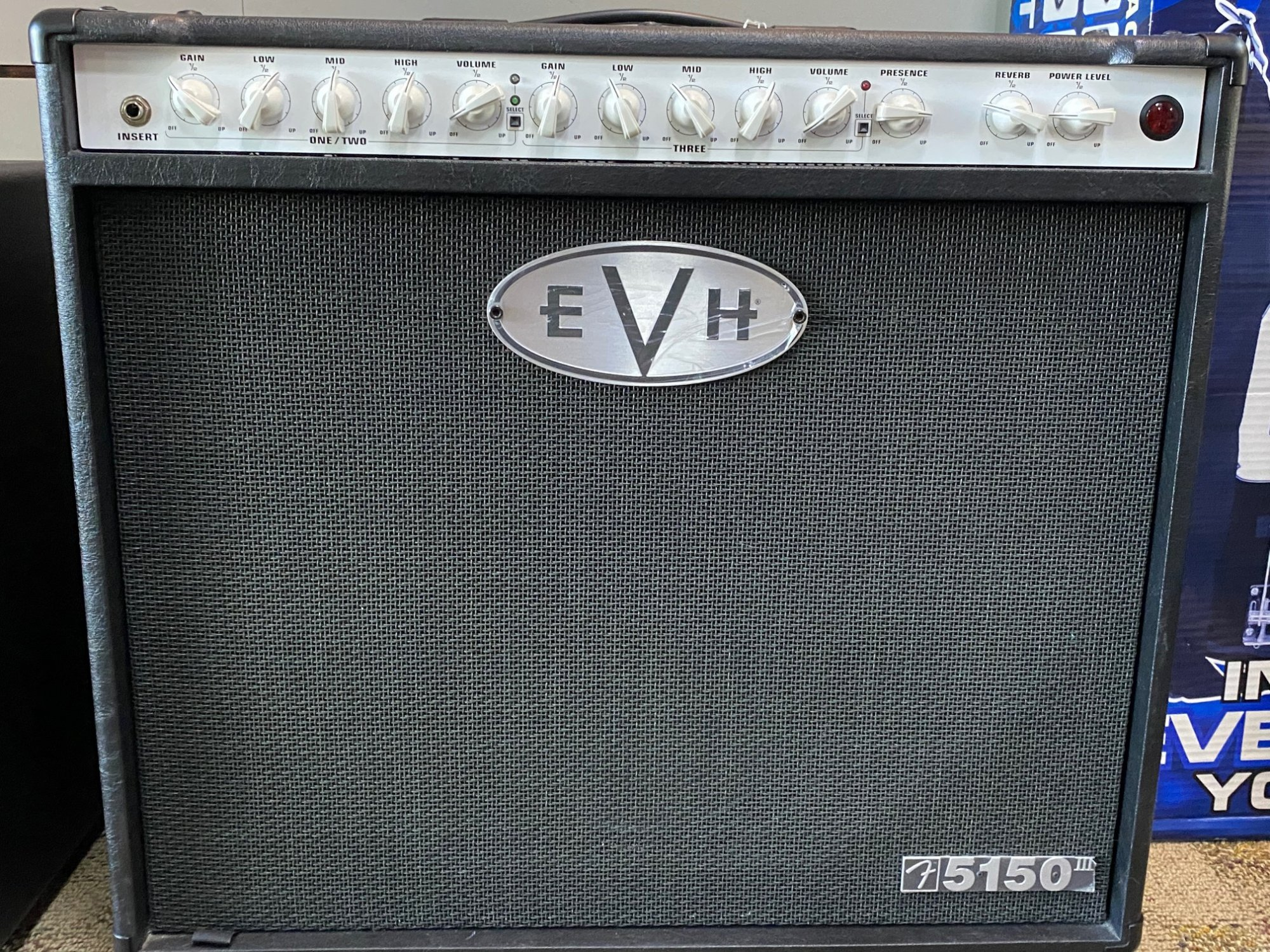 EVH 5150III 1x12 50-watt Tube Combo Amp - Black