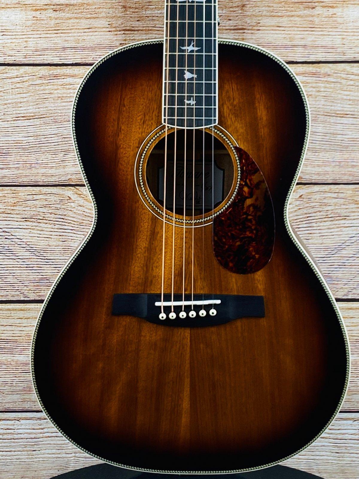 PRS Paul Reed Smith SE P20E Parlor Acoustic-Electric Guitar Vintage Sunburst