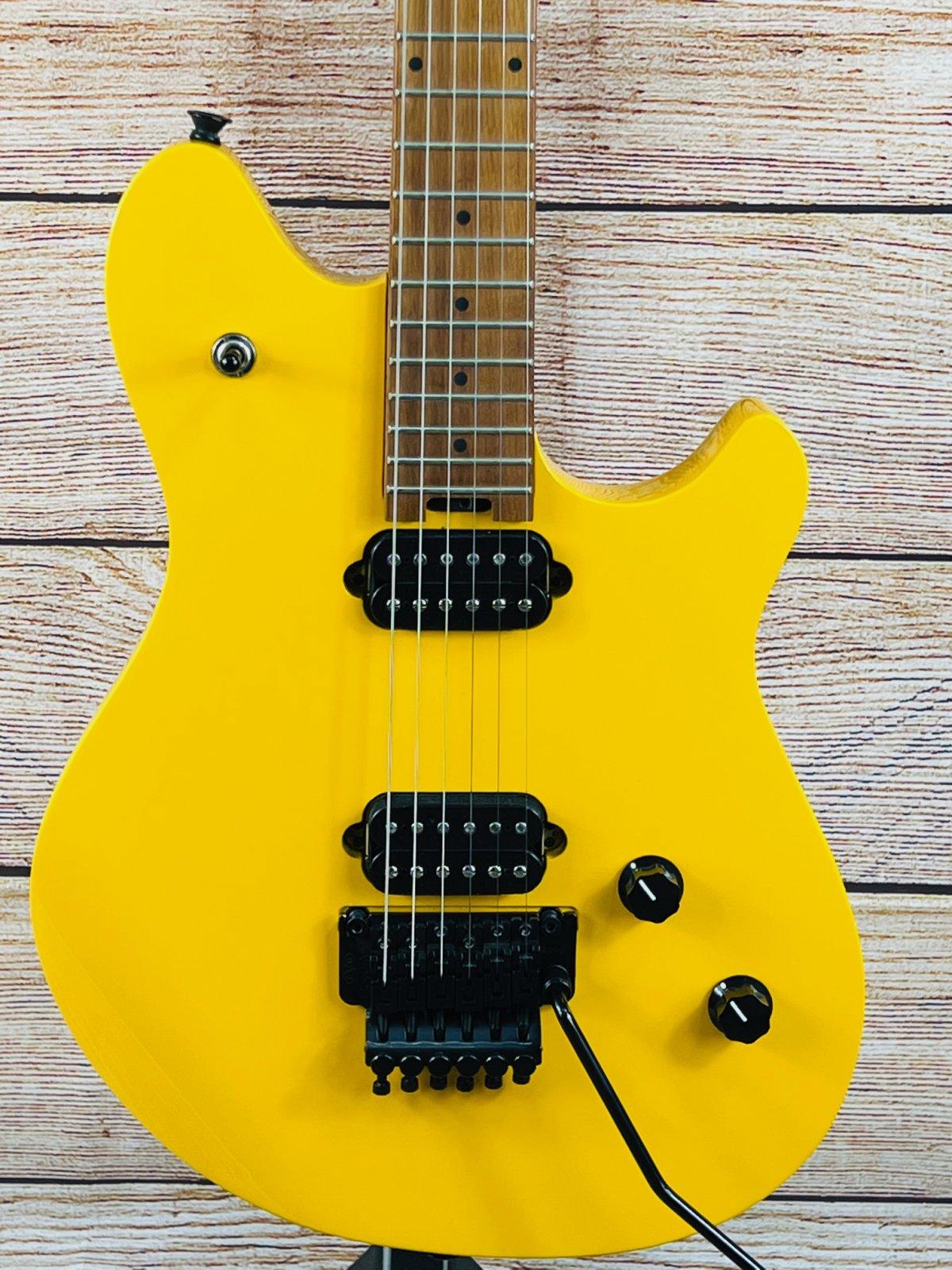 EVH Wolfgang Standard Electric Guitar- Taxi Cab yellow w/gigbag