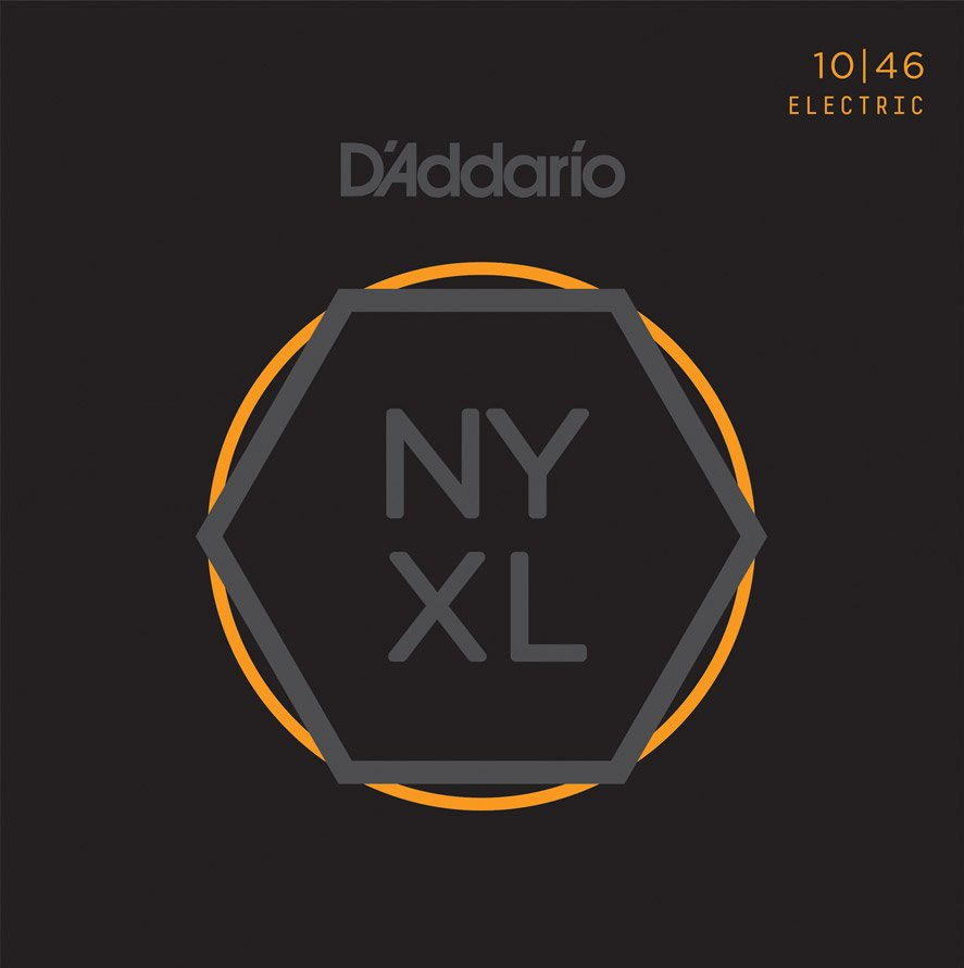D'Addario NYXL1046 Nickel Wound Electric Strings - .010-.046 Regular Light