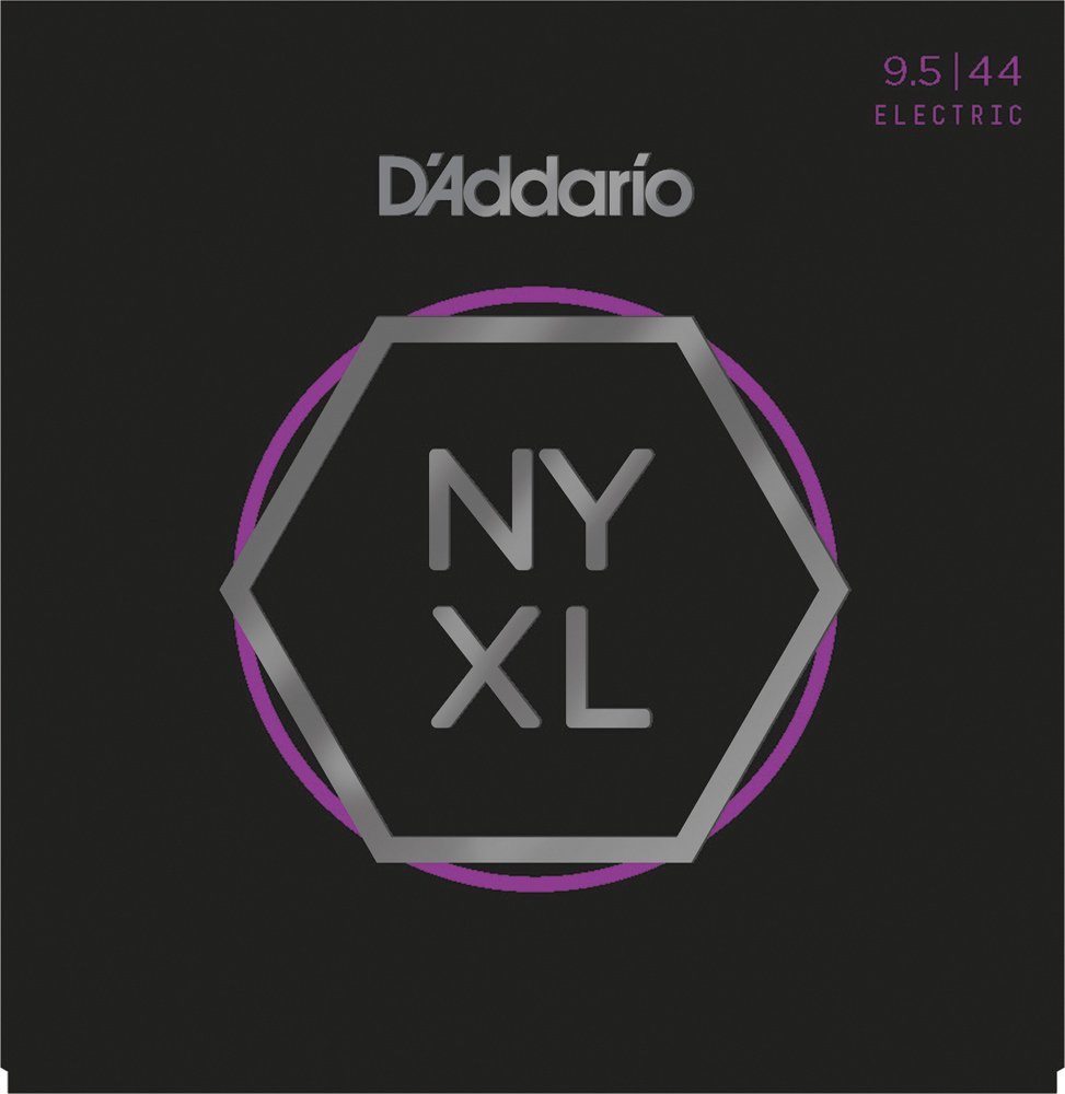 D'Addario NYXL0946 Nickel Wound Electric Strings - .009-.046 Super Light Top/Regular Bottom