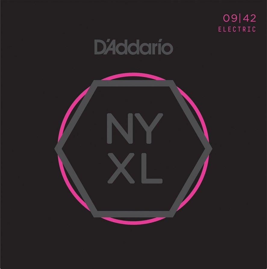 D'Addario NYXL0942 Nickel Wound Electric Strings - .009-.042 Super Light