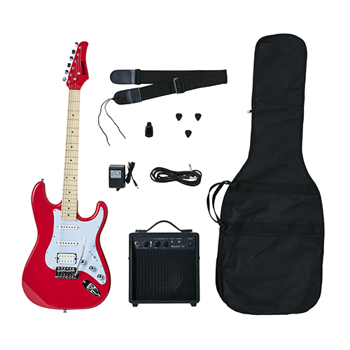 Kramer Focus Electric Guitar Player Pack - Red