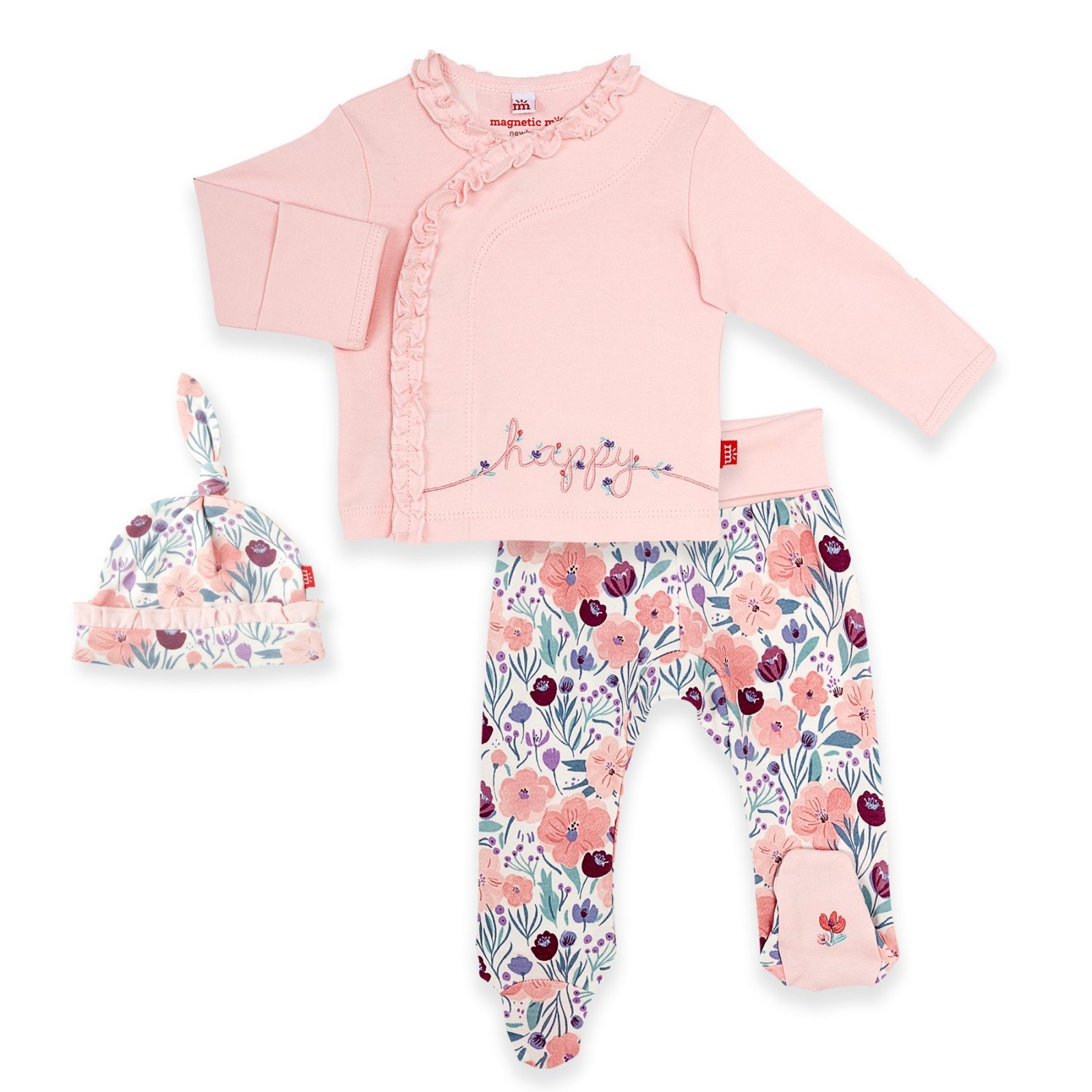Mayfair Organic Cotton Kimono Set