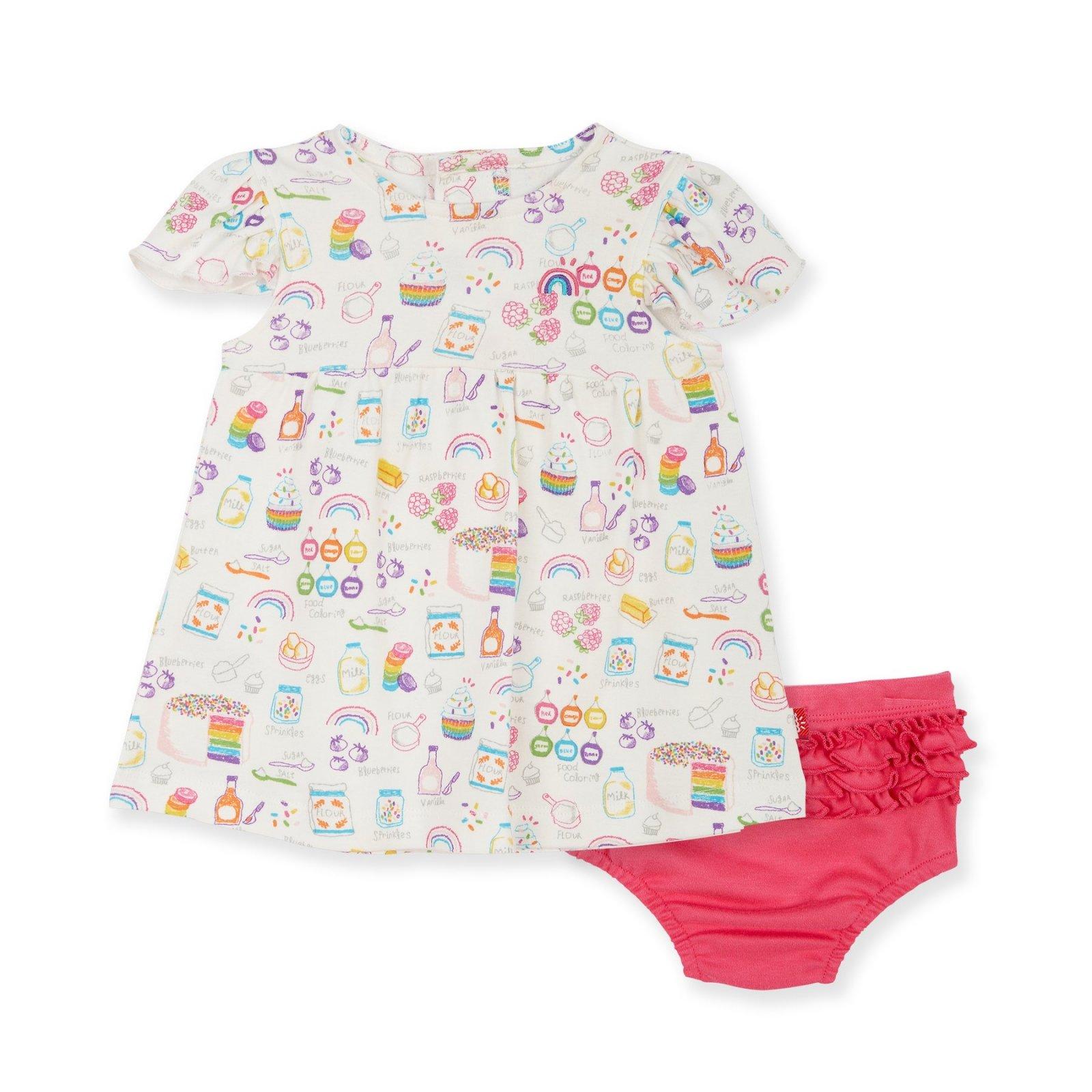 Rainbow Sprinkles Organic Cotton Dress