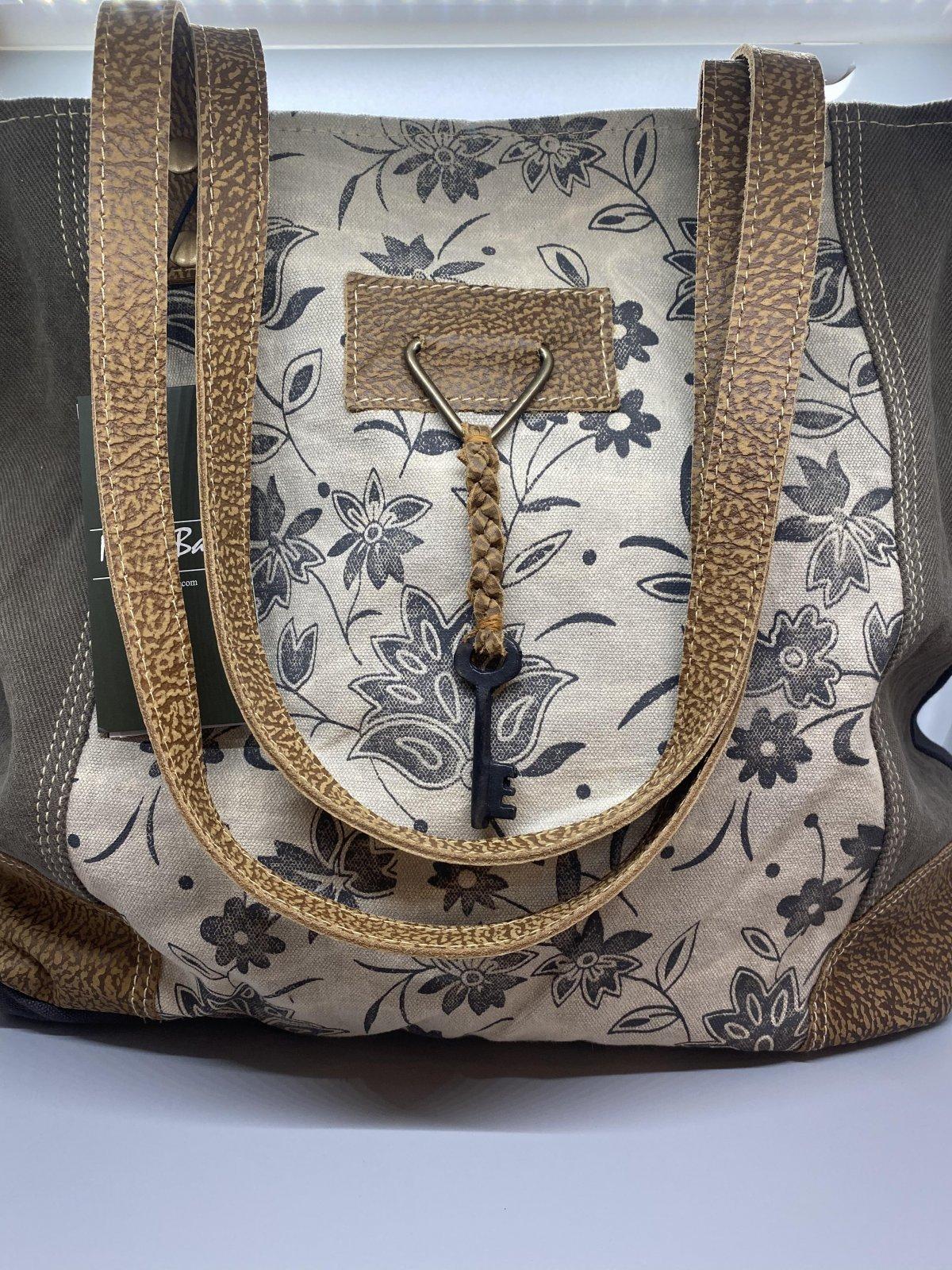 Unique Key Tote Bag