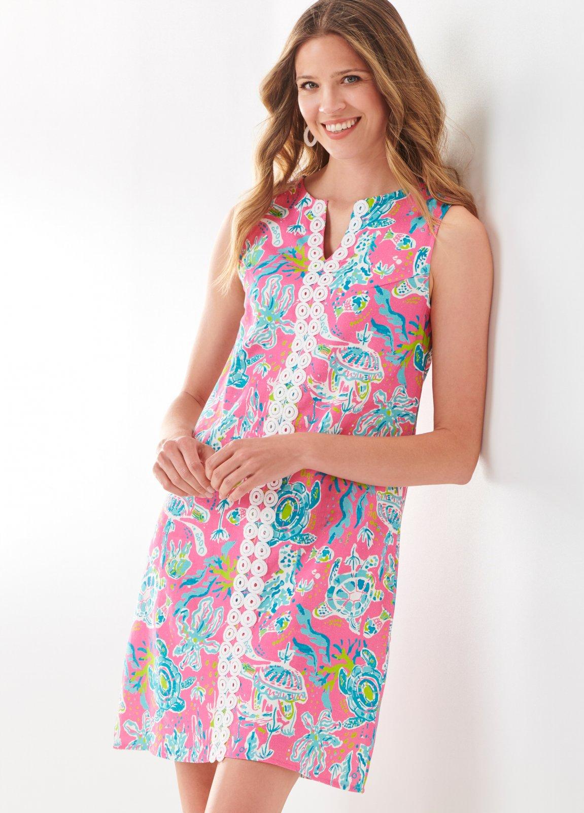Linen Resort Dress
