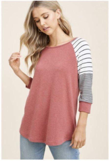 Stripe Soft Top