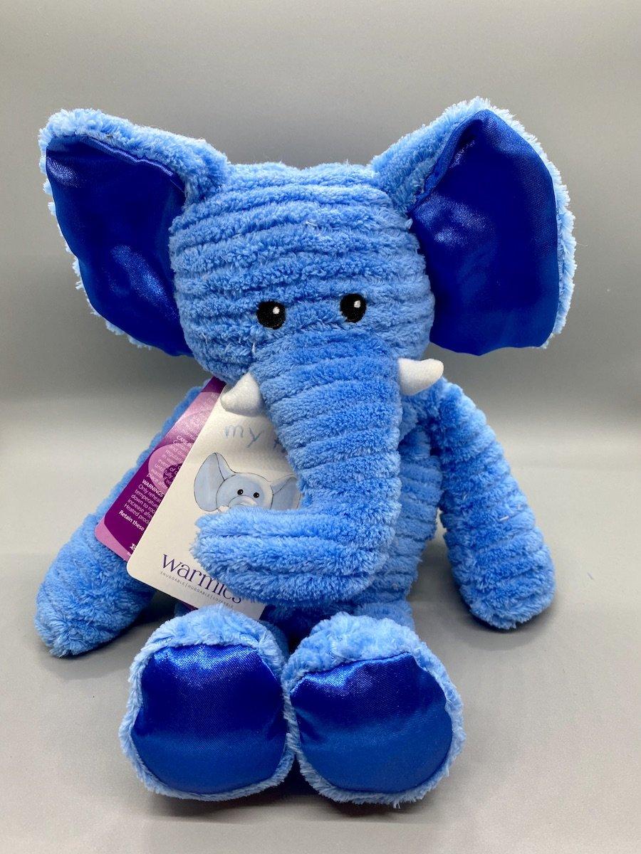 Blue Elephant Warmie