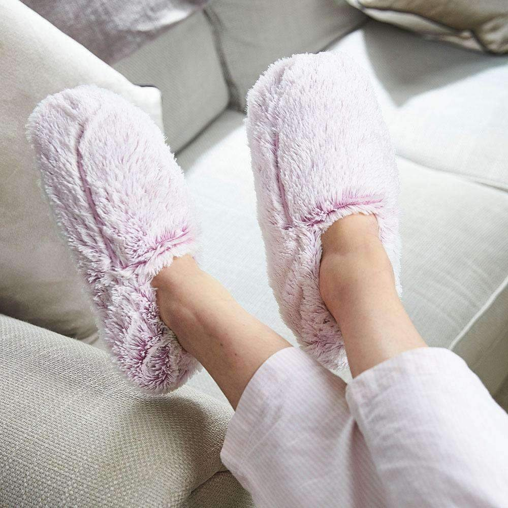 Warmies Slippers Marshmallow Pink