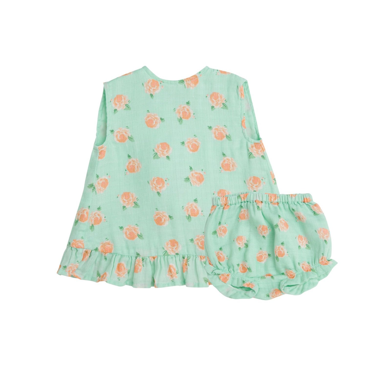 Ruffle Top and Bloomer Petite Rose