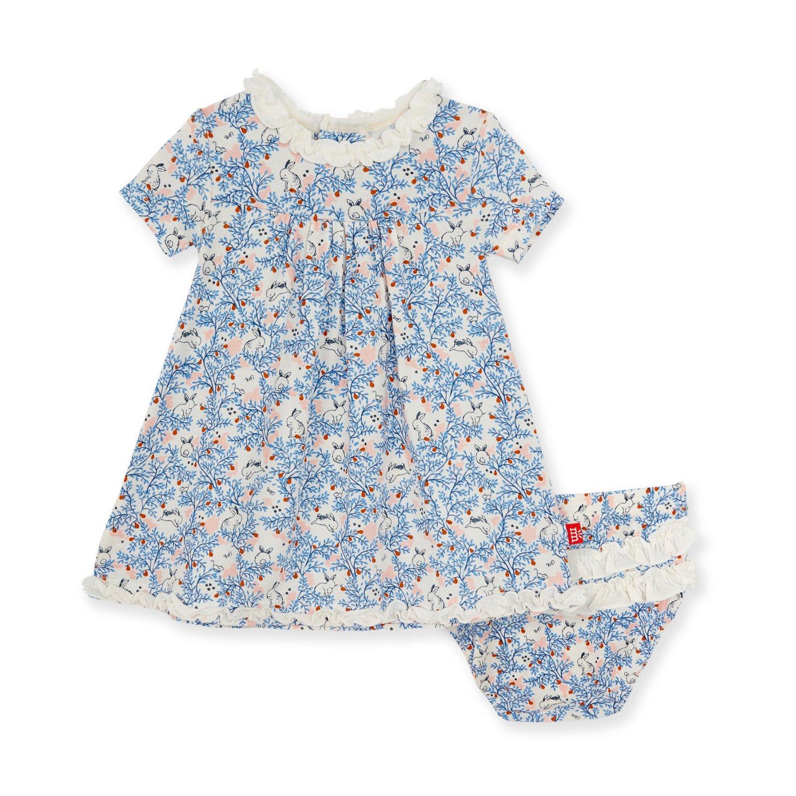 Somebunny Modal Dress W Diaper Cover