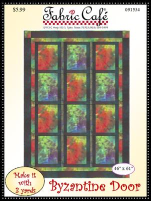 Byzantine Door 3 Yard Quilt Pattern