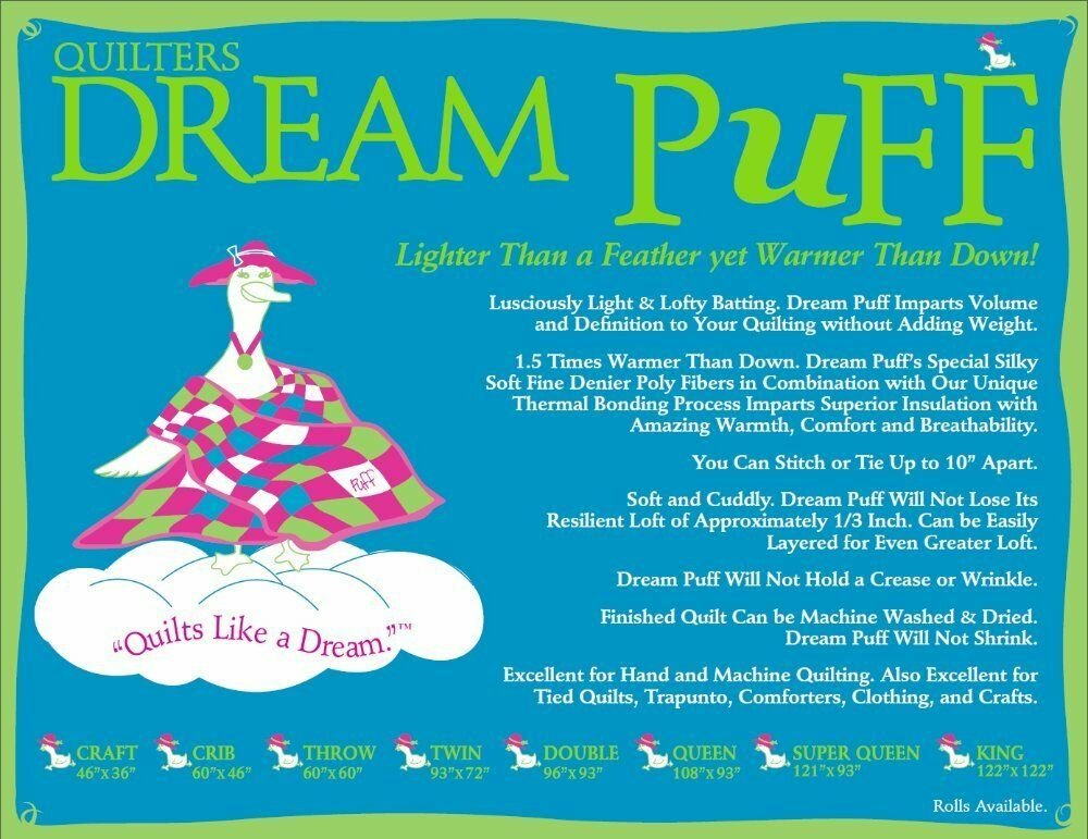 Quilters Dream Puff - Lofty but Light