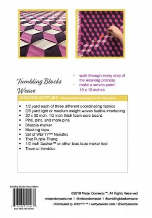 Tumbling Blocks Weave
