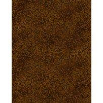 B.O.M: Leafy Scroll - Dark Chocolate