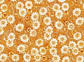 Scattered Flowers: TAN
