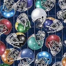 GRIDIRON - Football Helmets, Indigo