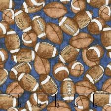 GRIDIRON - Footballs, Indigo