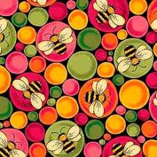 Ellery - Bees & Bubbles - Black