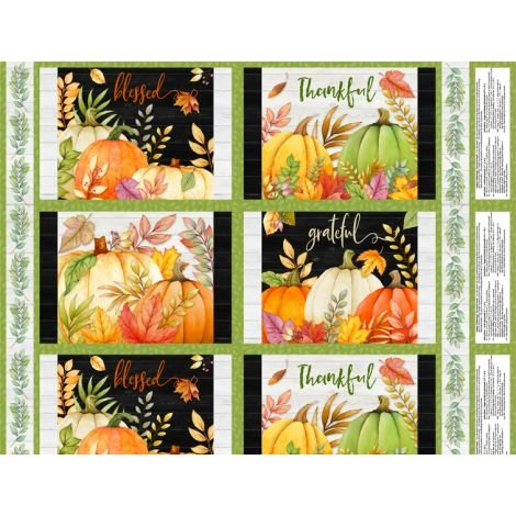 Happy Gatherings -   Placemat Panel Multi