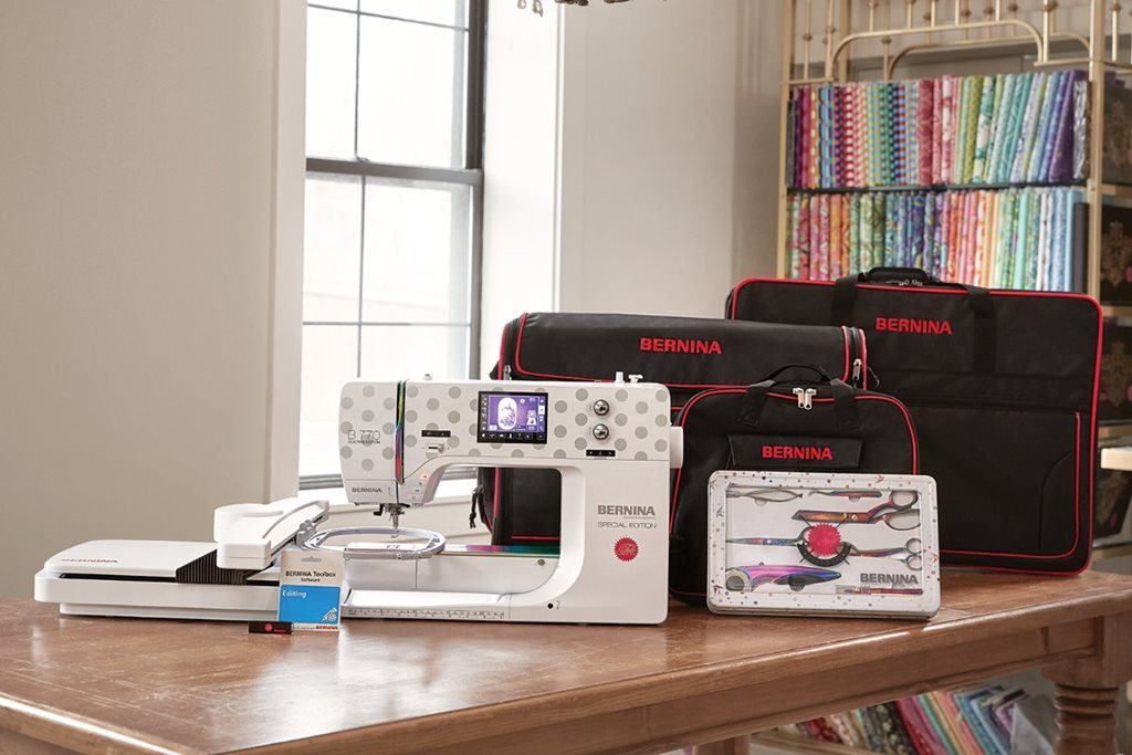 BERNINA Machine B770QE Sewing Machine