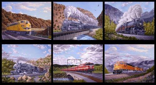 Locomotion - Train Blocks Black