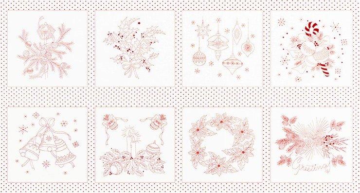 Holiday Flourish 13 - Yuletide Bells - Red