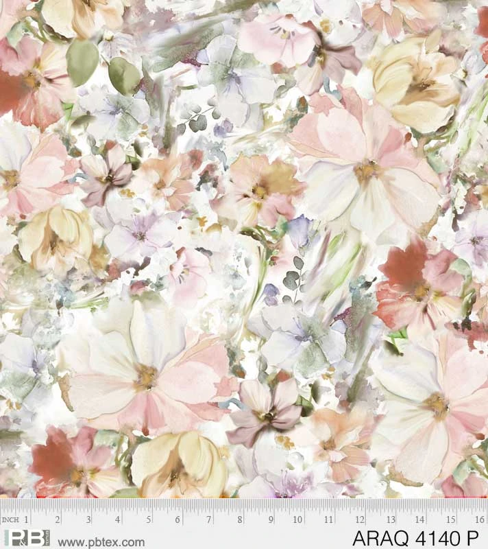 Arabesque Floral - P
